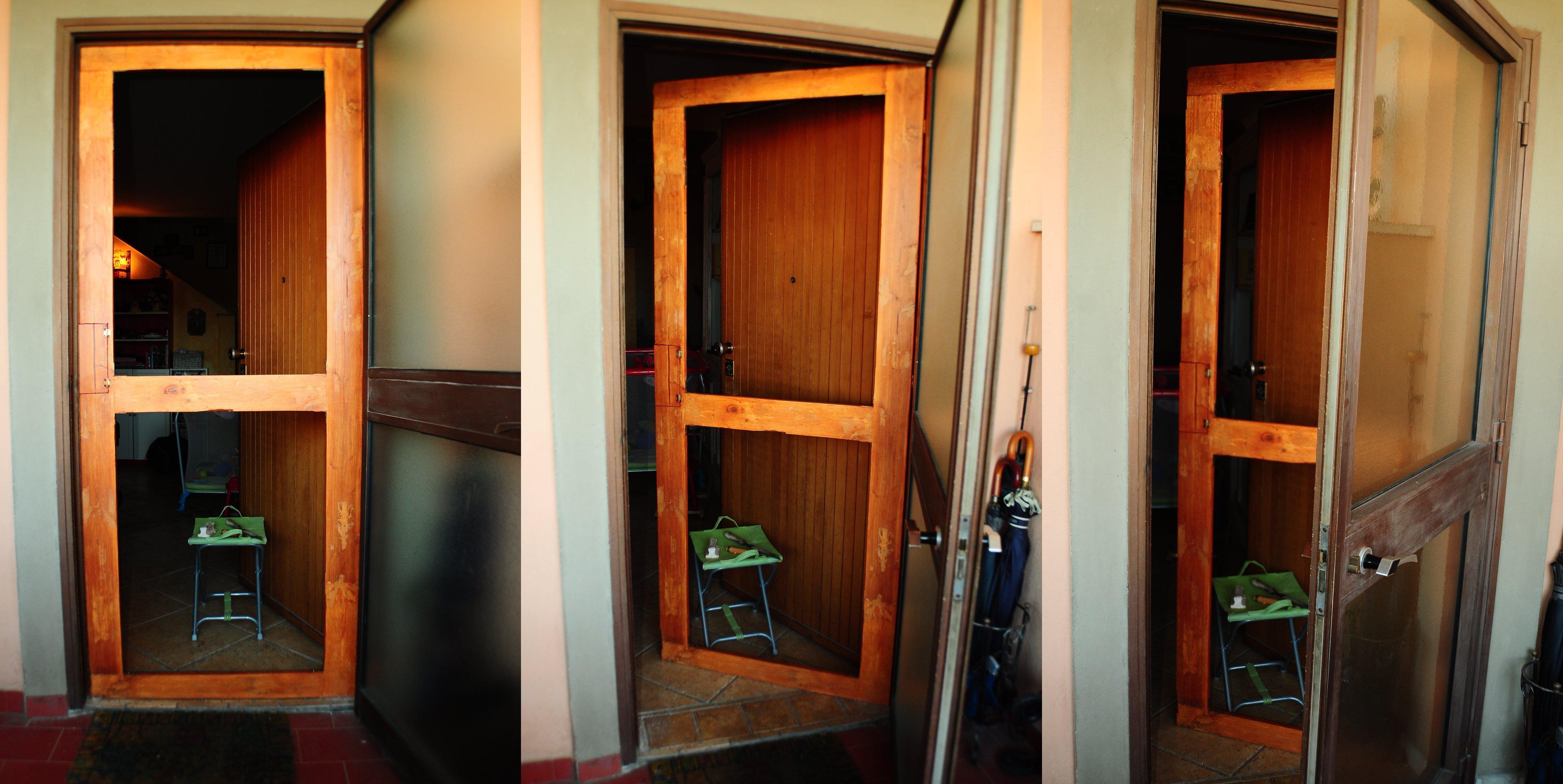 Come costruire una porta in legno promoclean - Porte fai da te legno ...