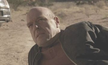 Hank before he dies