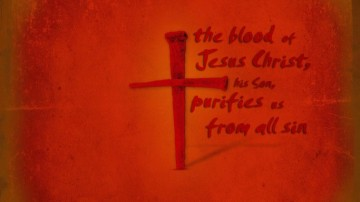 jesus blood cross