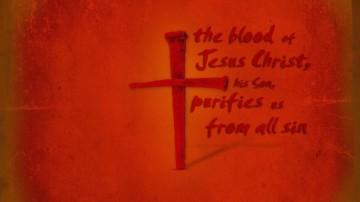 jesus blood cross